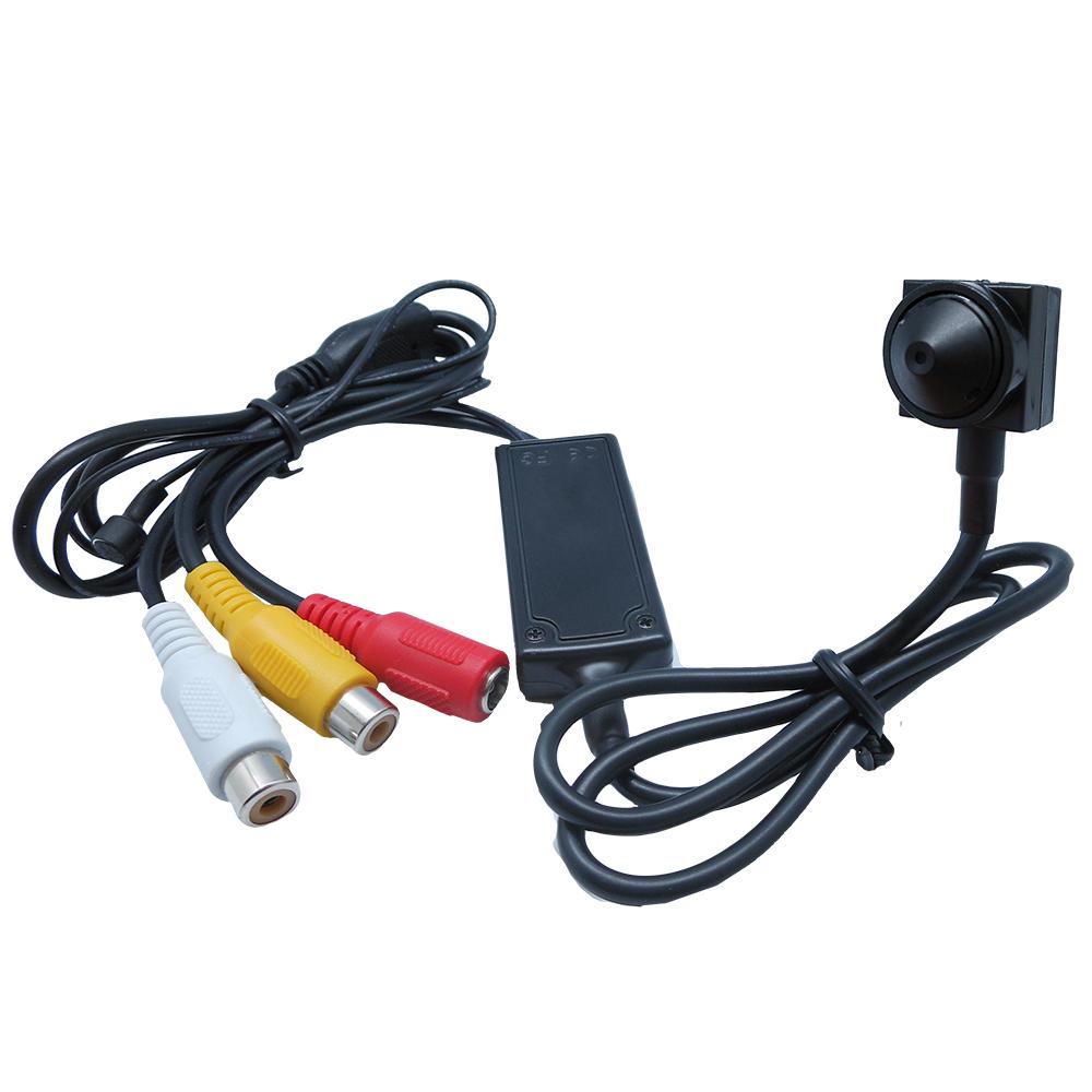 奇巧CHICHIAU SONY CCD 700條高解析偽裝型超低照度針孔攝影機
