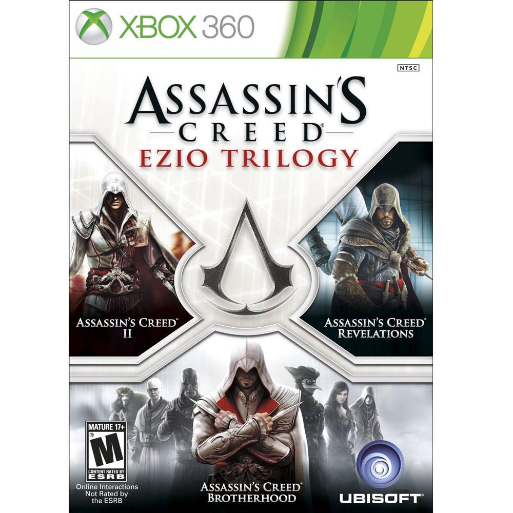 刺客教條:Ezio三部曲-XBOX360英文美版