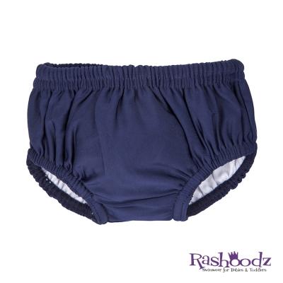 澳洲 RASHOODZ 兒童抗UV防曬游泳尿布褲 (深藍色)