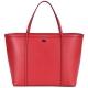 DOLCE & GABBANA 壓紋牛皮托特包(紅包) product thumbnail 1