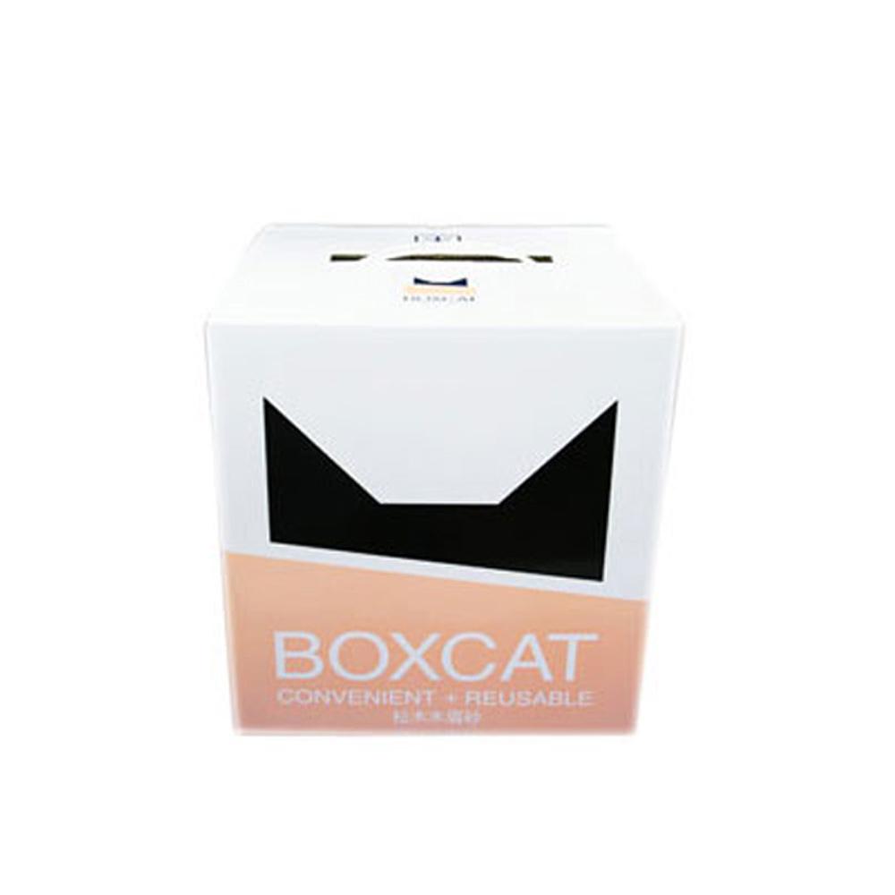 【國際貓家】BOXCAT黃標-松木木屑砂13L(6.5kg)