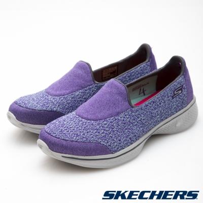 SKECHERS (女) 健走系列GO Walk 4 - 14148PUR