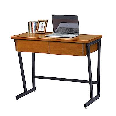 Bernice-柏德3尺二抽書桌-90x45x76cm