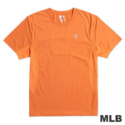 MLB-巴爾的摩金鶯隊反光LOGO合身上衣-桔(男)