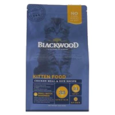 BlackWood 柏萊富 特調幼貓成長配方(雞肉+米)4磅 1.8公斤 X 1包