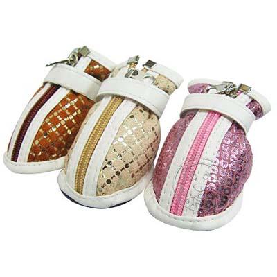 《PEPPETS》 閃亮亮防護寵物鞋(1)  3款顏色