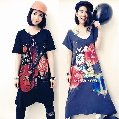 古著 任選 2 件 泰國手染水洗洋裝暢銷組-La Belleza