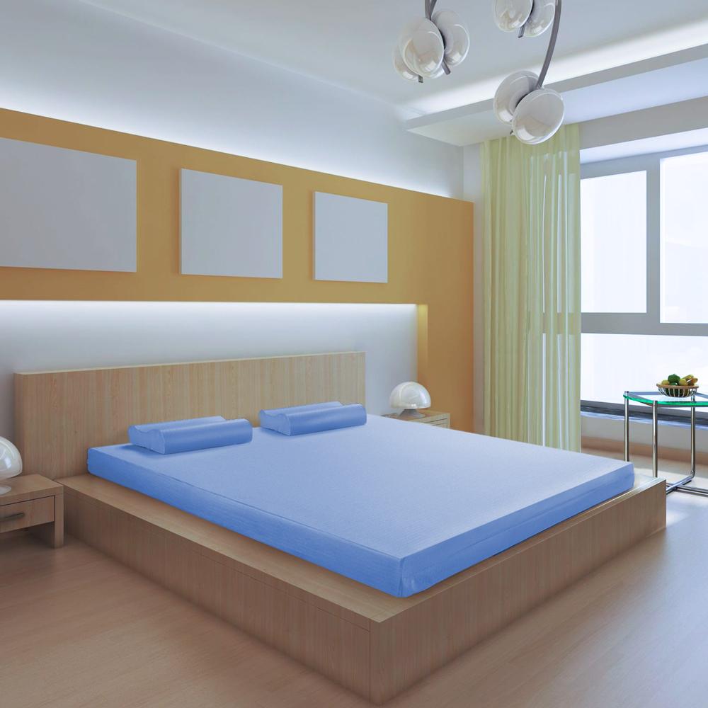 House Door 日本防蹣抗菌10cm竹炭高彈力記憶床墊-雙人5尺
