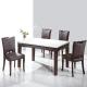品家居-米修4-5尺石面餐桌椅組合-一桌四椅-13