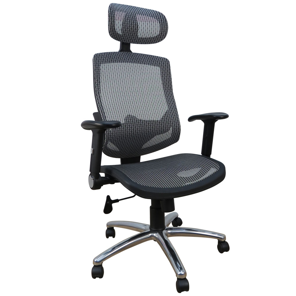 LOGIS 鐵金鋼人體工學超強不破全網辦公椅/電腦椅/主管椅