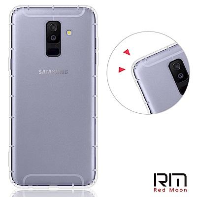 RedMoon 三星 Galaxy A6+(2018) 6吋 防摔透明TPU手機...