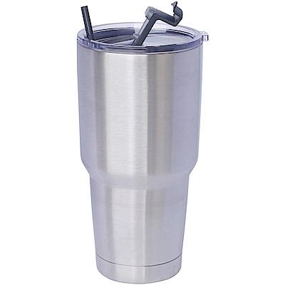 304不鏽鋼雙層保冷/保溫杯900ml一個