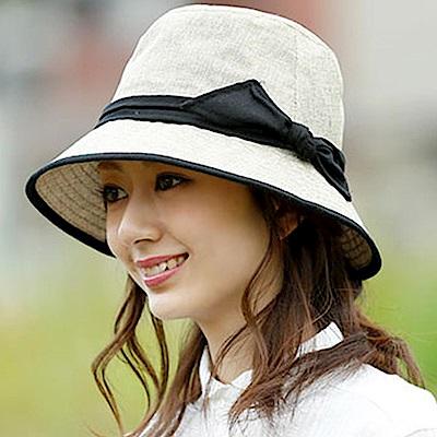 日本Aube抗UV可折疊時尚小顏遮陽帽