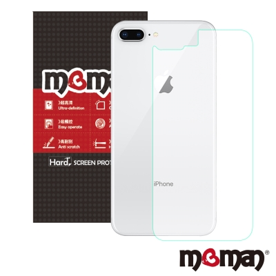 Mgman iPhone 8 Plus (背面) 0.3mm9H 非滿版玻璃保護...