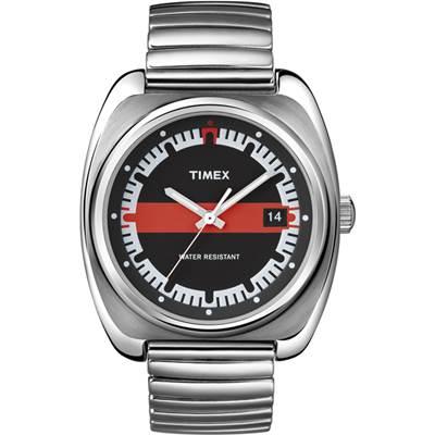 TIMEX 經典復刻冷光系列腕錶-黑/38mm
