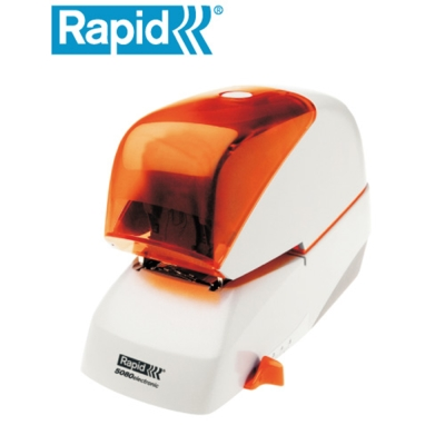 Rapid  R-5080e (橘色) 電動釘書機