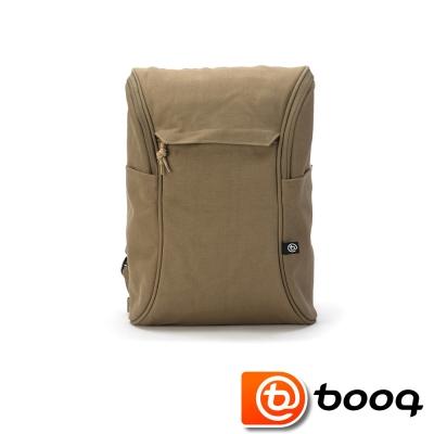 Booq Daypack 經典復古後背包 -帆布棕