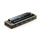 j5create USB3.0 4Port 口琴造型集線器-JUH345BE