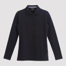 Hang Ten - 女裝 - 經典美式純色POLO衫 - 黑