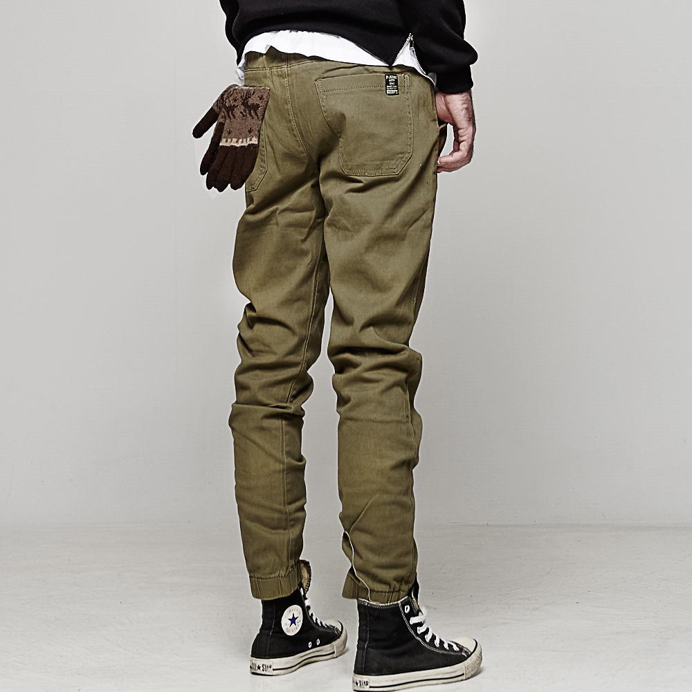 DITION 加大尺碼JOGGER工裝縮口褲 抽繩螺紋工作褲