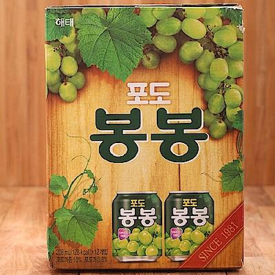 韓國HAITAI 葡萄果汁(238mlx12入)