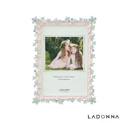 日本 LADONNA Bridal 幸福新娘花園 4x6相框 粉 (BJ05-P-PK)