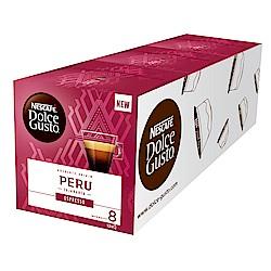 雀巢咖啡 DOLCE GUSTO義式濃縮咖啡膠囊 秘魯限定版12顆入(3盒)