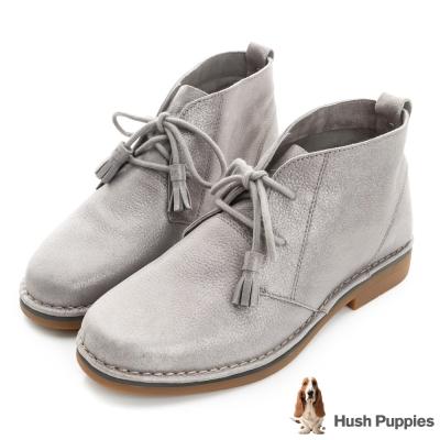 Hush Puppies ICON58沙漠靴-金屬灰