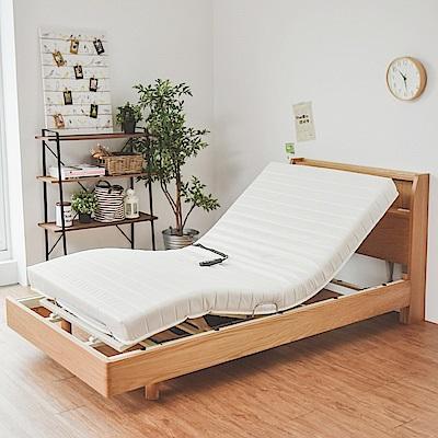 Home Feeling 單人床組/電動床/床架/置物床頭三件組-DIY
