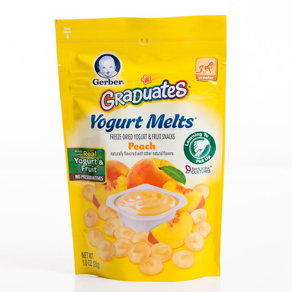 嘉寶 水果優格餅乾-水蜜桃(28g)