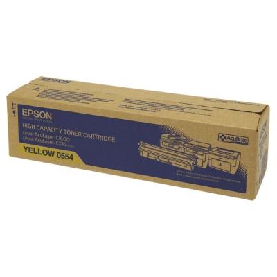 EPSON C13S050554 黃色碳粉匣