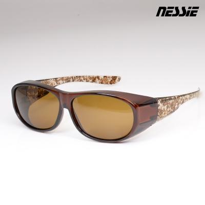 Nessie尼斯眼鏡-偏光太陽眼鏡-全罩(大理石茶)