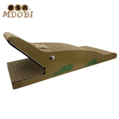 MDOBI摩多比 貓丸家 瓦楞紙 貓抓板-大鱷魚