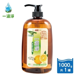 一滴淨蘆薈多酚洗碗精 柑橘精油1000g