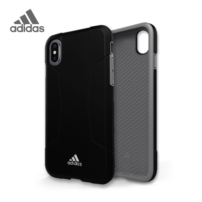 adidas iPhone X Solo Case 全保護手機殼 曜石黑