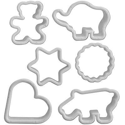IBILI 餅乾模6件(幾何動物)