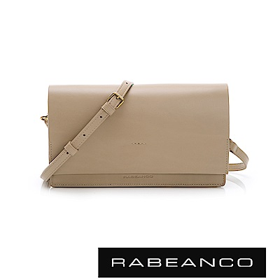 RABEANCO 迷時尚系列多夾層小方包 - 杏