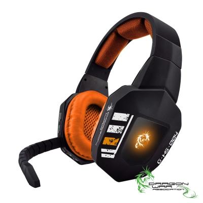 ELEPHANT 龍戰系列 無限禁區 專業電競無線全罩式耳麥(GHS004OG)