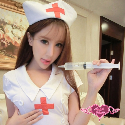針筒 甜蜜方針 醫護角色扮演道具配件(透明F) AngelHoney天使霓裳
