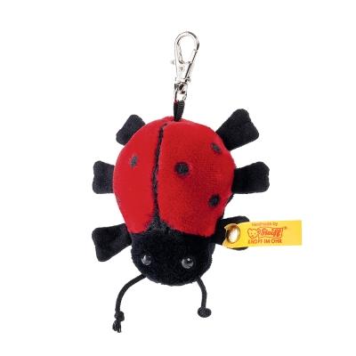 STEIFF德國金耳釦泰迪熊 - Ladybird Keyring 瓢蟲 (經典吊飾)