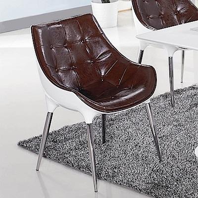 H&D 塑鋼造型椅 (寬58X深57X高81cm)