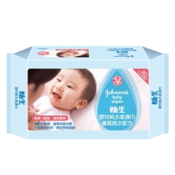 嬌生 嬰兒純水柔濕巾