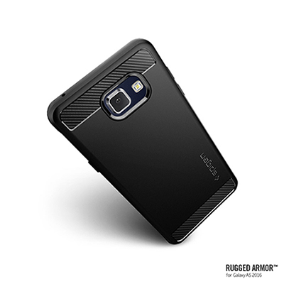 Spigen Galaxy A5 Rugged Armor彈性防震保護殼-黑