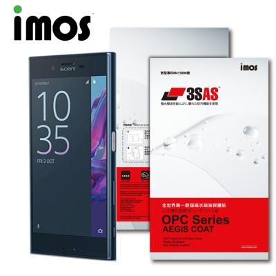 iMOS Sony Xperia XZ 3SAS 疏油疏水 螢幕保護貼
