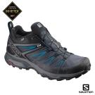 Salomon 登山鞋 低筒 GORETEX 防水 男 X ULTRA 3 黑藍