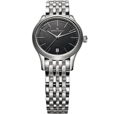 Maurice Lacroix 典雅系列 永恆記憶都會腕錶-黑/ 33 mm