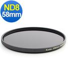 Kenko PRO1D ND8 (W) 特殊多層鍍膜減光鏡 / 58mm