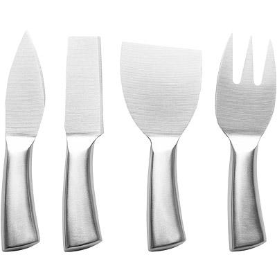 EXCELSA 不鏽鋼起司刀叉4件