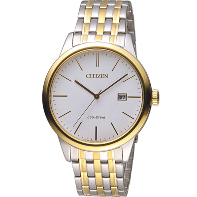 CITIZEN 星辰 經典百搭時尚紳士錶(BM7308-58A)-雙色/40mm