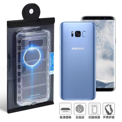 WUW 原廠包裝 Samsung Galaxy S8 Plus/S8+ 氣墊簡約...